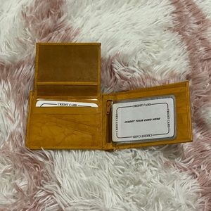 ✨NEW✨ 💵 Hand Crafted Genuine Leather Wallet